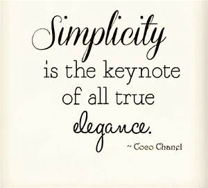 8 best images about Simplicity Quotes on Pinterest   Do ...