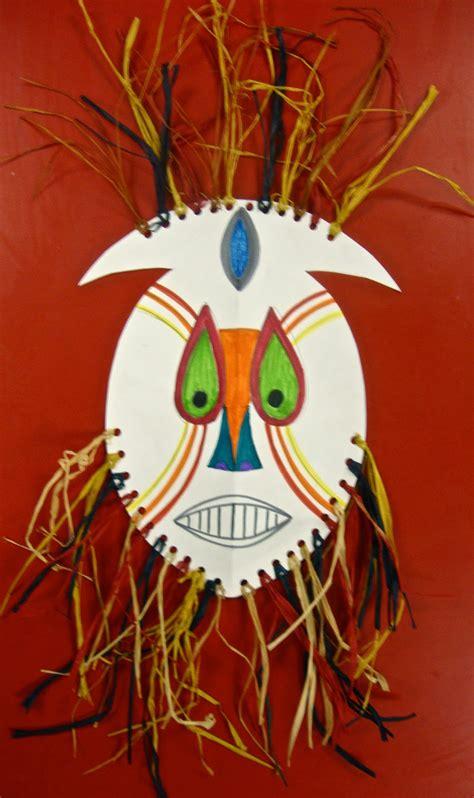 childrens piggy paper scissors glue mask