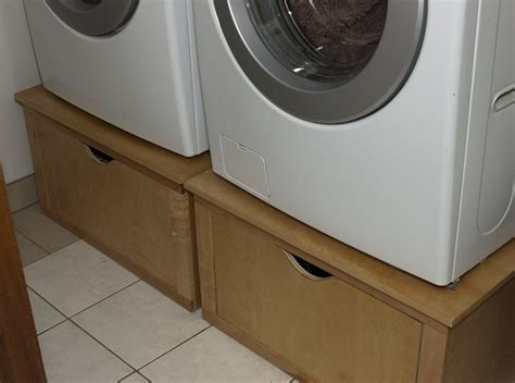 washer and dryer pedestal washer and dryer pedestals by flossy lumberjocks