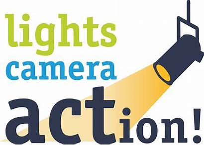 Camera Action Lights Clipart Smile Transparent Acts