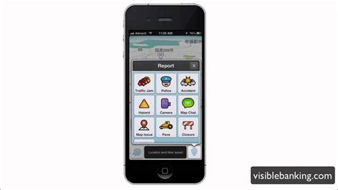 Google Waze App For Iphone [crowdsourcing Traffic]