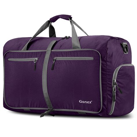 duffle bag 60l unisex travel carry on waterproof luggage cing sport handbag duffle bag ebay