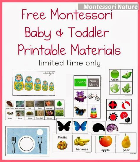 montessori nature free montessori baby toddler