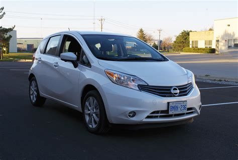 Nissan Versa Note by Review 2016 Nissan Versa Note Sl Canadian Auto Review