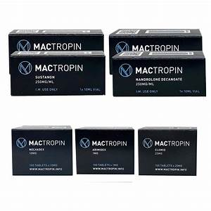 Pack Bulking Advanced - Mactropin   Deca