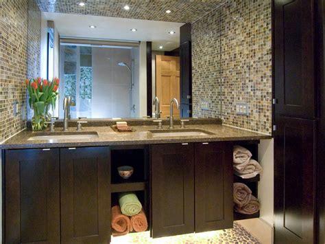 bathroom vanity tile ideas photos hgtv