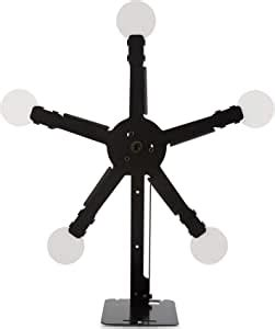 amazoncom hiram resetting target stand   spinning targets  close distance airsoft