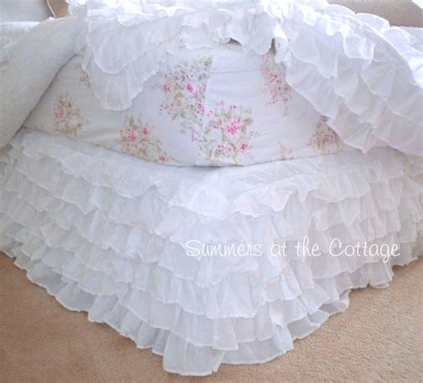 shabby chic bed skirt shabby chic bedskirts rachel ashwell shabby chic petticoat ruffles dreamy white ruffle bedding