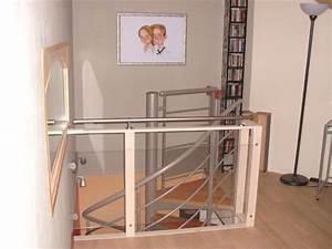 balustrade bois leroy merlin balustrade chromebois fonc With tonnelle en bois pour jardin 5 escalier quart tournant bas gauche soft wood structure