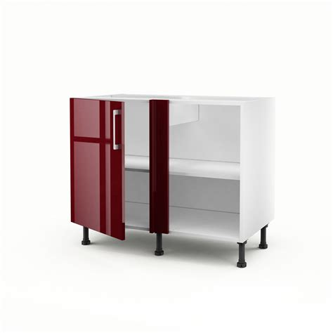 porte meuble cuisine leroy merlin meuble de cuisine bas d 39 angle 1 porte griotte h 70 x