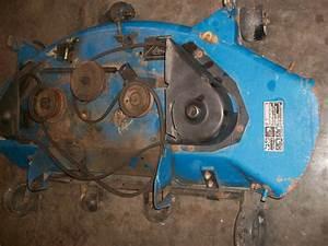Ford New Holland Ls 45h Cv 18s Kohler Engine  Mower Deck 48 Inch Standard