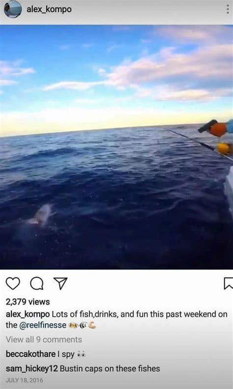 alex siesta kompothecras key mtv reality instagram cast posts shark star dragging florida deleted threats death keys worse somehow than