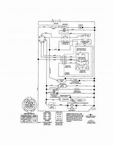 Craftsman Riding Mower Electrical Diagram