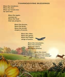 happy thanksgiving blessings poem eileen spinelli writing and illustrating