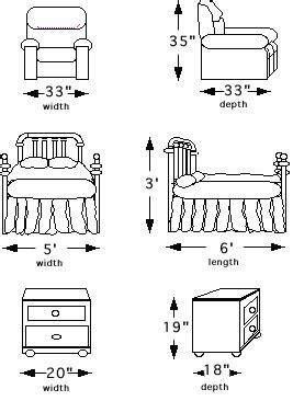 Decorating Studio - How To Measure Furniture
