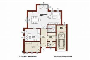 Haus Mit Integrierter Garage : favorit massivhaus ~ Frokenaadalensverden.com Haus und Dekorationen