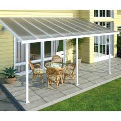 palram feria white patio cover 3m internet gardener