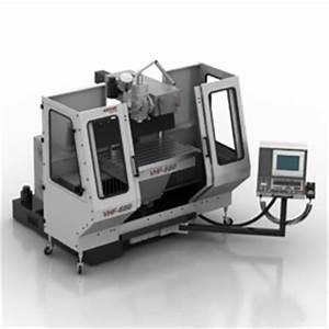 Industrial & Construction equipment 3D Models Milling