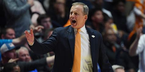 Rick Barns by What Rick Barnes Said After Tennessee S Blowout Loss To