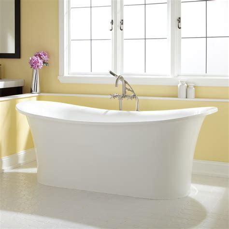 Acrylic Tubs For Sale by 72 Quot Shai Bateau Acrylic Freestanding Tub Acrylic Tub