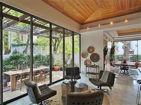 modern rustic interior design condado beach estate home