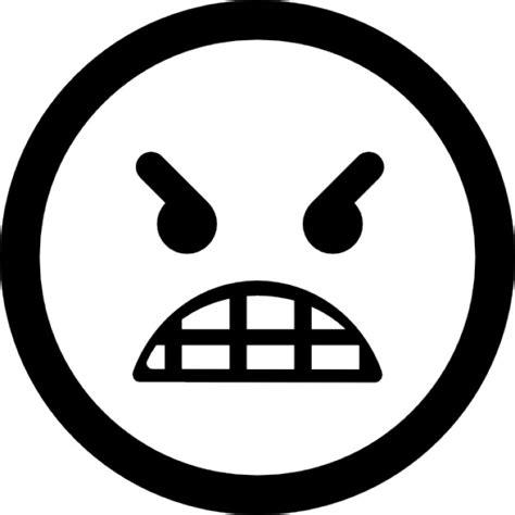 icone bureau gratuit émoticône visage en colère télécharger icons gratuitement
