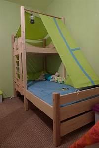 Lit Cabane Pour Enfant : construction d 39 un lit cabane tuto diy ~ Teatrodelosmanantiales.com Idées de Décoration