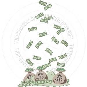 Falling Money Clip Art Free