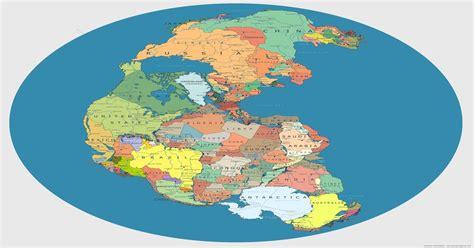 Pangea with modern borders : interestingasfuck