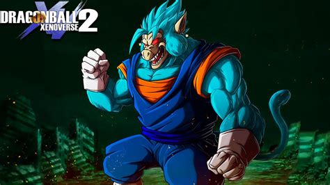 great ape vegito blue limit breaker fusion oozaru vegito
