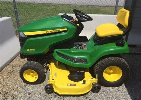 deere x300 lawn tractors specs price facts