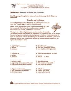 vocabulary worksheets count and noncount nouns worksheet