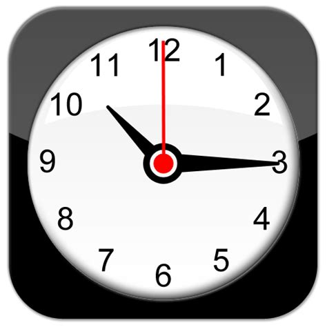 iphone clock iphone itouch clock app psd by wrecklesspunk on deviantart