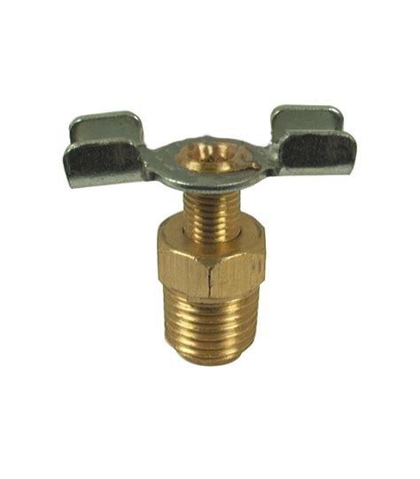 robinet de purge de radiateur 1 4 quot bsp adaptable toutes marques mat 233 riel agricole distribagri