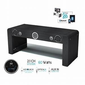Meuble Tv Home Cinema Intégré : meuble tv enceinte integre ~ Melissatoandfro.com Idées de Décoration