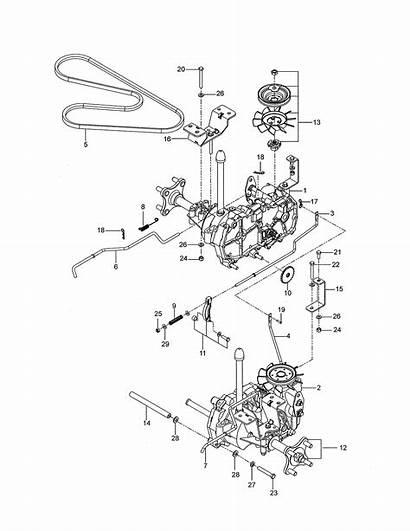 Husqvarna Z246 Engine Parts Mower Rear Motor