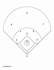 Free Printable Baseball Field Diagram