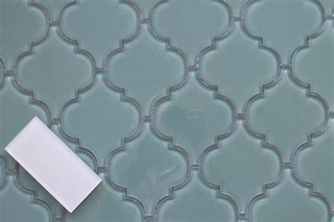 arabesque glass tile seaside arabesque glass mosaic tiles sle swatch mediterranean mosaic tile by rocky