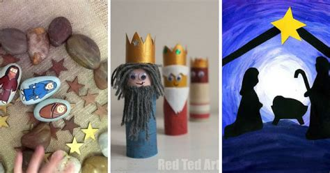nativity craft ideas activities your preschoolers will 783 | Nativity Crafts for Kids FB