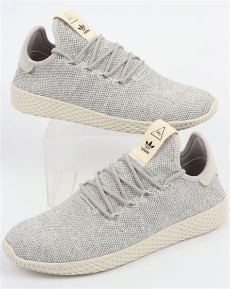 Adidas Pw For adidas pw tennis hu trainers grey white pharrell williams
