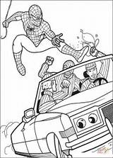 Coloring Robber Pages Spiderman Catch Try Printable Dot Drawing Paper sketch template