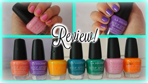 la colors review la colors nail review demo