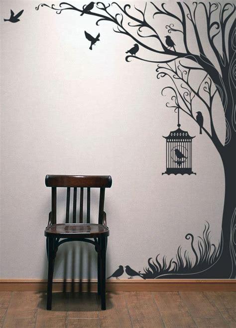 décoration mur chambre à coucher stickers chambre adulte lesquels choisir archzine fr