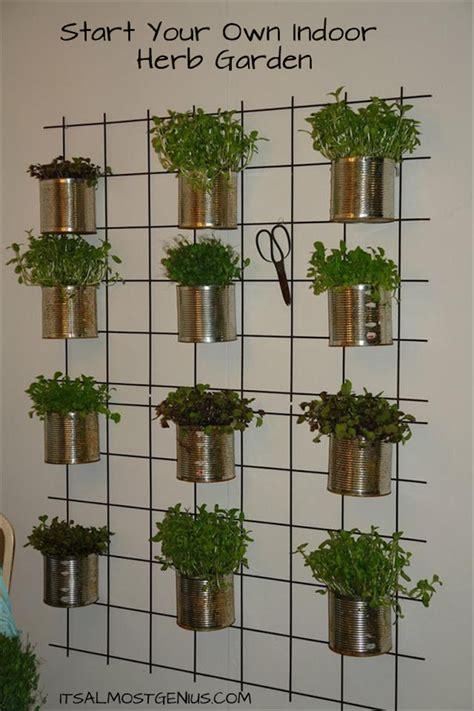10 Easy Diy Kitchen Herb Gardens Room & Bath