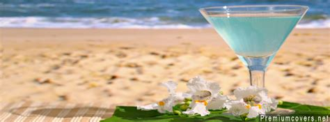 Facebook Summer Cover Photos by Summer Drink At Beach Facebook Cover 5711 The Wondrous