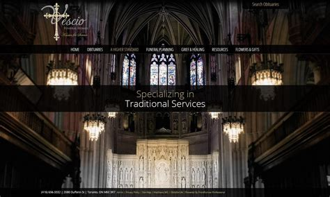 stand  funeral home website designs     people talking frontrunner