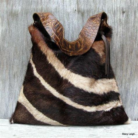 How To Soften Cowhide - purse handbag hair on cowhide purse in brown zebra print