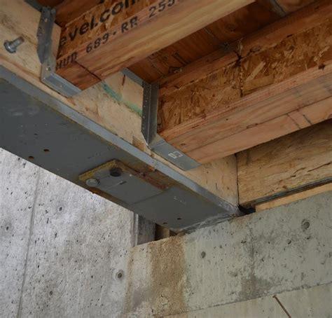 west van steel  concrete connection home building