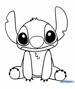 Stitch Drawings Black And White Pictures to Pin on ...