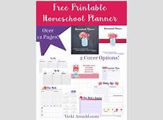 Printable Homeschool Planner Simply Vicki